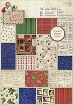 PACK PAPEL SCRAP LETTER TO SANTA Nº1