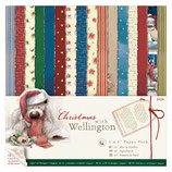 PACK PAPEL SCRAP CHRISTMAS WITH WELLINGTON