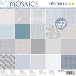 PACK PAPEL SCRAP MOSAICOS