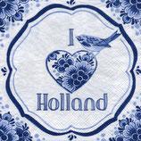 SERVILLETA VIAJE LOVE HOLANDA
