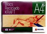 BLOC KRAFT RECICLADO MICHEL