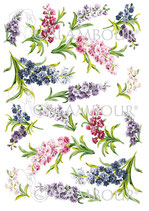 PAPEL ARROZ LILAS