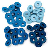 OJETES ANCHOS AZULES
