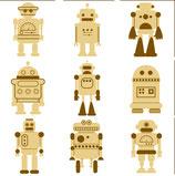 MINI SILUETA ROBOTS