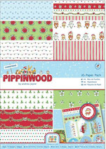 PACK PAPEL SCRAP A-5 PIPPINWOOD