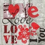 SERVILLETA LOVE