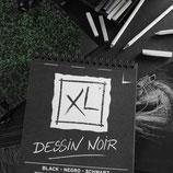 BLOC XL DESSIN NOIR