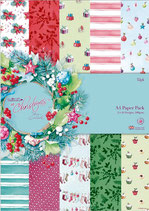 PACK PAPEL SCRAP AT CHRISTMAS