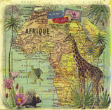 SERVILLETA MAPA ÁFRICA
