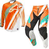 Alpinestars Racer Supermatic Orange White