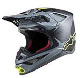 Alpinestars Supertech S-M10 Black Gray Yellow Fluo