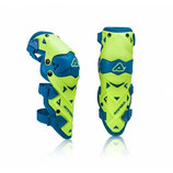 Acerbis Knee Guards Evo Limited Blue Yellow