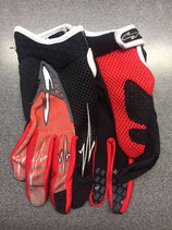 Sinisalo Tech T1H2 kids gloves Red