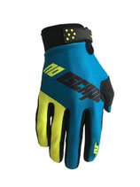 No Escape Gloves Black Blue Yellow