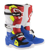 Alpinestars Tech 7S Blue White Red Yellow Fluo