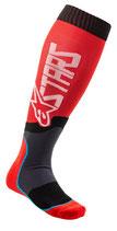 Alpinestars MX Plus-2 Socks Red White