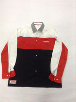 Yamaha Hemd Red White Black