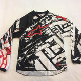 Alpinestars Charger Jersey Youth White