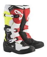 Alpinestars Tech 3 Black White Yellow Fluo Red