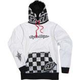 Troy Lee Designs Check It Fleece White