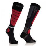 Acerbis MX Impact Socks  Black Red