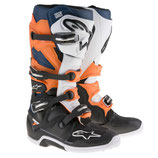 Alpinestars Tech 7 Black Orange White Blue