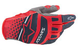 Alpinestars Techstar Gloves Bright Red Navy