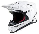 Alpinestars Supertech S-M10 Solid White Glossy