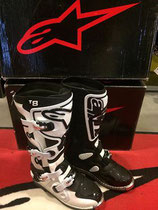Alpinestars Tech 8 White Black
