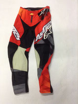 Alpinestars Racer Braap Pant Red Charcoal Yellow Fluo