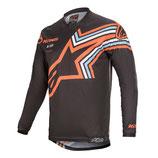 Alpinestars Racer Braap Dark Gray Orange Fluo