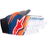 Alpinestars Techstar Venom Gloves Orange White Navy