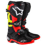 Alpinestars tech 10 Black Red Yellow Fluo