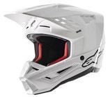 Alpinestars S-M5 Solid White Glossy