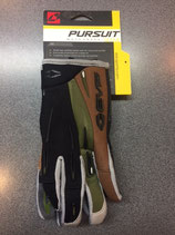 EVS Pursuit Gloves Black Dark Green