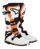 Alpinestars Tech 8 RS Orange Vented