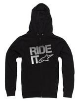 Alpinestars Ride It Tech Zip Fleece Black