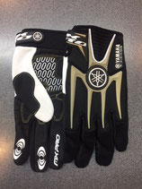 Yamaha Gloves Black Gold