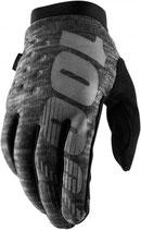 100% Brisker II Gloves Heather Grey