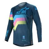 Alpinestars Techstar Venom Navy Aqua Pink Fluo