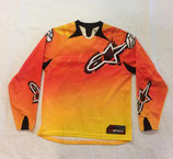 Alpinestars Youth Charger Jersey Orange