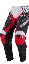 Yamaha Pant Black White Red