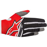 Alpinestars Radar Flight Gloves Red Black