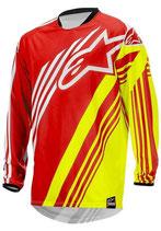 Alpinestars Racer Supermatic Jersey Red Yellow