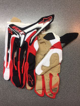 Alpinestars Jet Gloves Black Red