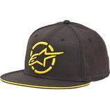 Alpinestars pinned flatbill hat Yellow Black