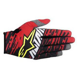 Alpinestars Racer Braap Gloves Red Black White