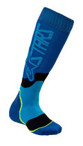 Alpinestars Youth MX Plus-2 Socks Blue Cya