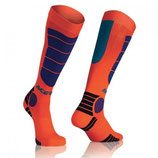 Acerbis MX Impact Junior Socks Orange Blue
