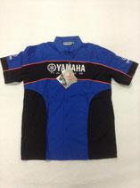 Yamaha Paddock Shirt Blue Black